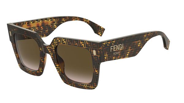 FENDI(フェンディ) FENDI ROMA(フェンディ ローマ) FF0457GS FFハバナアセテート サングラス その2