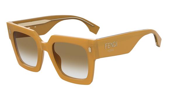 FENDI(フェンディ) FENDI ROMA(フェンディ ローマ) FF0457GS ハニーカラーアセテート サングラス その2