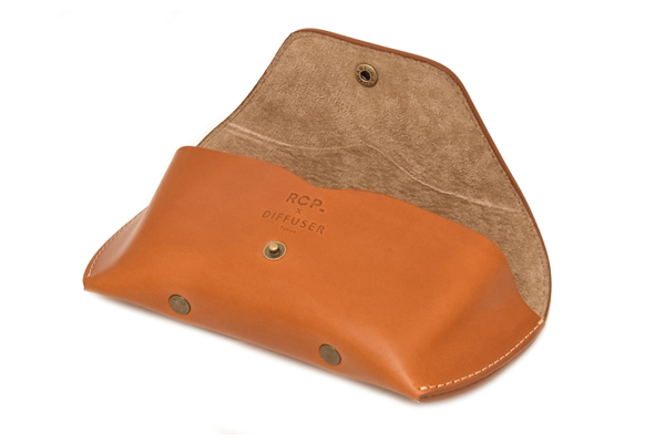 DIFFUSER(ディフューザー) LEATHER CASE/CAMEL×BEIGE(R.C.P 60th Limited Color)その2
