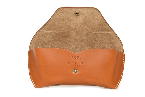 DIFFUSER(ディフューザー) LEATHER CASE/CAMEL×BEIGE(R.C.P 60th Limited Color)その4