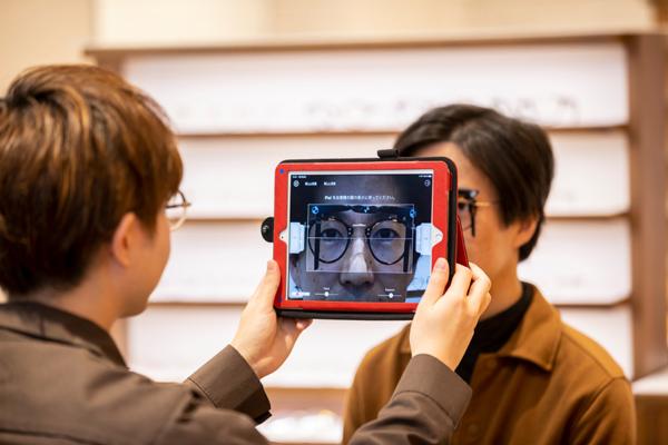 独自開発のiPadアプリ「TANAKAメジャー」