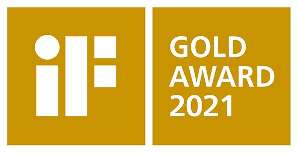 iF GOLD AWARD 2021 ロゴ