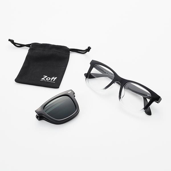 Zoff NIGHT & DAY FOLDING MODEL セット内容