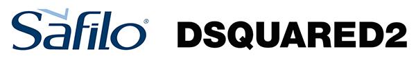 サフィロとディースクエアードのロゴ