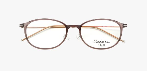 眼鏡市場 cotori(コトリ) cot-004 カラー:ICYGR(アイシーグレー)その1