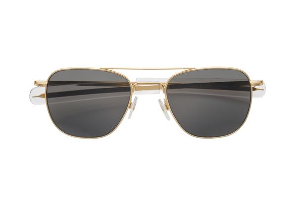 American Optical(アメリカン オプティカル) Original Pilot(オリジナルパイロット) サイズ:52□20-140 カラー:ゴールド(レンズ:グレー)その1