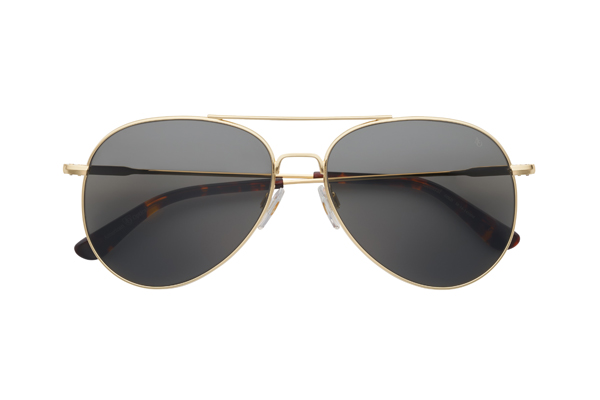 American Optical(アメリカン オプティカル) General(ジェネラル) サイズ:58□14-145 カラー: ゴールド(レンズ:グレー)