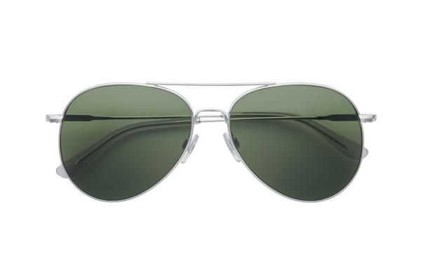American Optical(アメリカン オプティカル) General(ジェネラル) サイズ:58□14-145 カラー: シルバー(レンズ:グリーン)