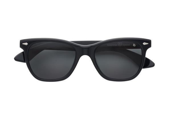 American Optical(アメリカン オプティカル) Saratoga(サラトガ) サイズ:52□19-145 カラー:ブラック(レンズ:グレー)その2