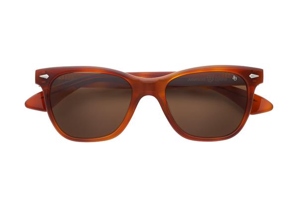American Optical(アメリカン オプティカル) Saratoga(サラトガ) サイズ:52□19-145 カラー:ハバナ(レンズ:ブラウン)