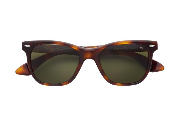 American Optical(アメリカン オプティカル) Saratoga(サラトガ) サイズ:52□19-145 カラー:トータス(レンズ:グリーン)