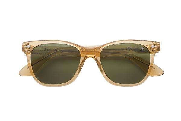 American Optical(アメリカン オプティカル) Saratoga(サラトガ) サイズ:52□19-145 カラー:イエロークリスタル(レンズ:グリーン)