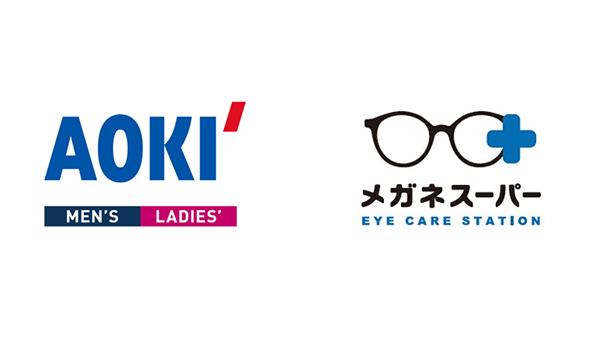 メガネスーパーが紳士服のAOKIと異業種連携、AOKI東川口店内に新店舗オープン