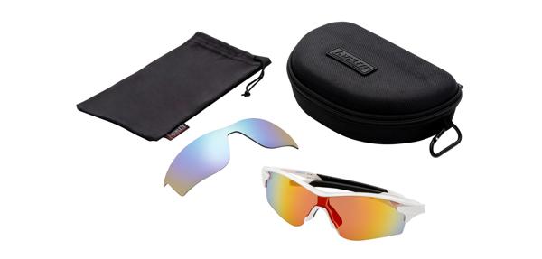 眼鏡市場 i-ATHLETE(アイアスリート) IA-108 カラー:W(ホワイト)セット内容