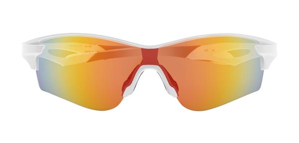 眼鏡市場 i-ATHLETE(アイアスリート) IA-108 カラー:W(ホワイト)その2