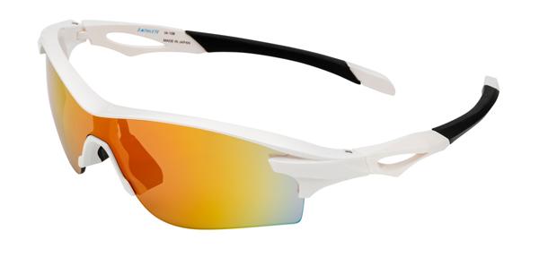 眼鏡市場 i-ATHLETE(アイアスリート) IA-108 カラー:W(ホワイト)その4