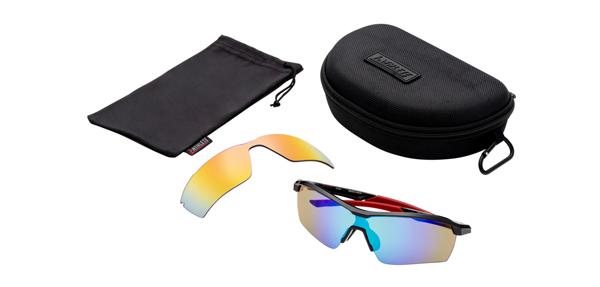 眼鏡市場 i-ATHLETE(アイアスリート) IA-109 カラー:BK(ブラック)セット内容