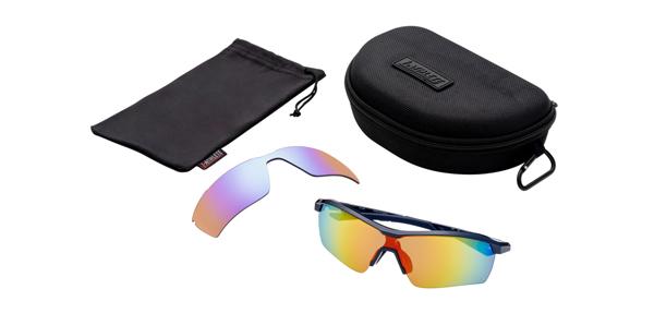 眼鏡市場 i-ATHLETE(アイアスリート) IA-109 カラー:NV(ネイビー)セット内容