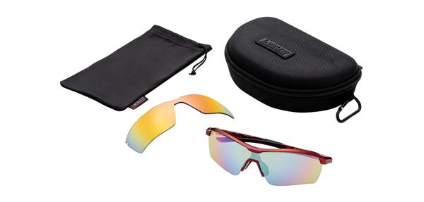 眼鏡市場 i-ATHLETE(アイアスリート) IA-109 カラー:RE(レッド)セット内容