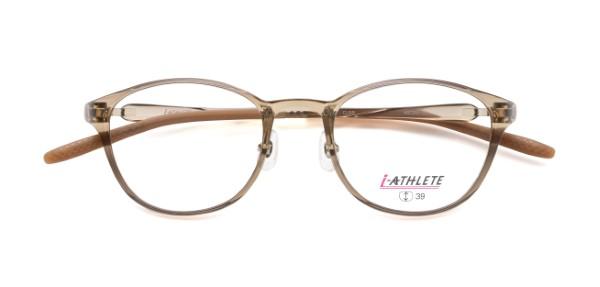 眼鏡市場 i-ATHLETE(アイアスリート) IA-600 カラー:クリアブラウン(CLBR)