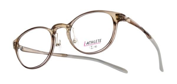 眼鏡市場 i-ATHLETE(アイアスリート) IA-601 カラー:クリアブラウン(CLBR)