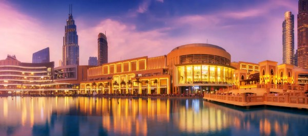 The Dubai Mall(ドバイ モール)外観