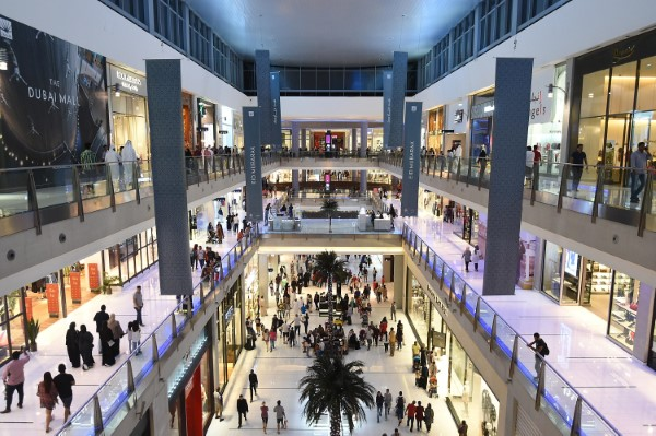 The Dubai Mall(ドバイ モール)館内