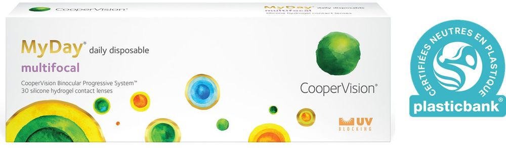 CooperVision with « MyDay® multifocal »