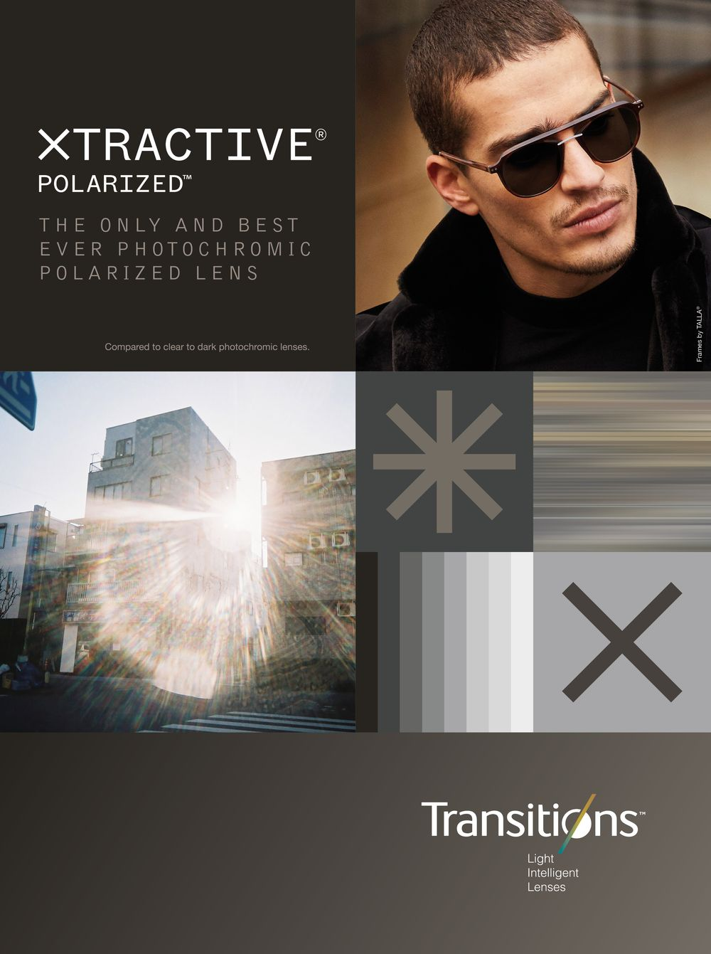 TRANSITIONS Optical avec « Transitions® XTRActive® Polarized™»