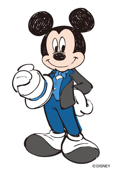 ミッキーマウス 新作オリジナルアート